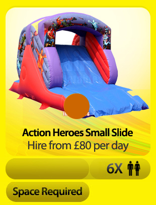Action Heroes Small Slide