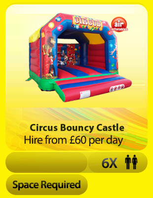 12ft Circus Bouncy Castle